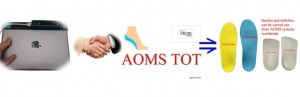 Sharp Shape AOMS TOT iPad Structure Sensor Foot Scanner Approach