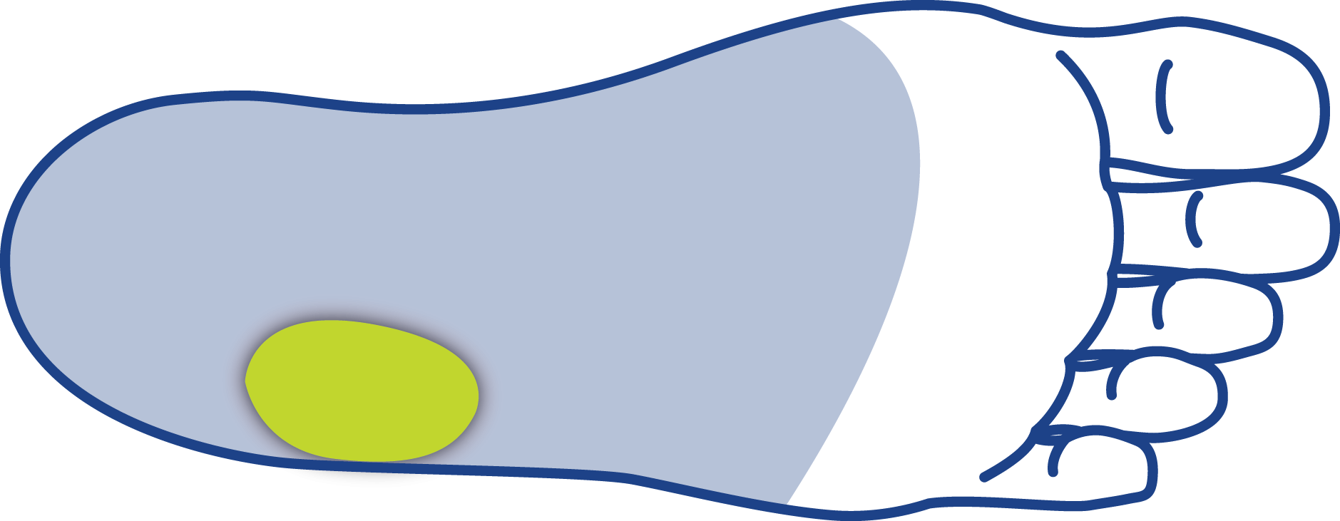 Cuboid Pad