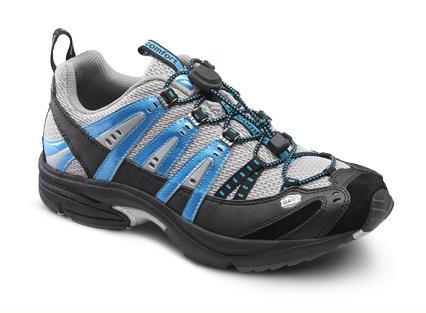 Dr. Comfort Performance Metallic Blue