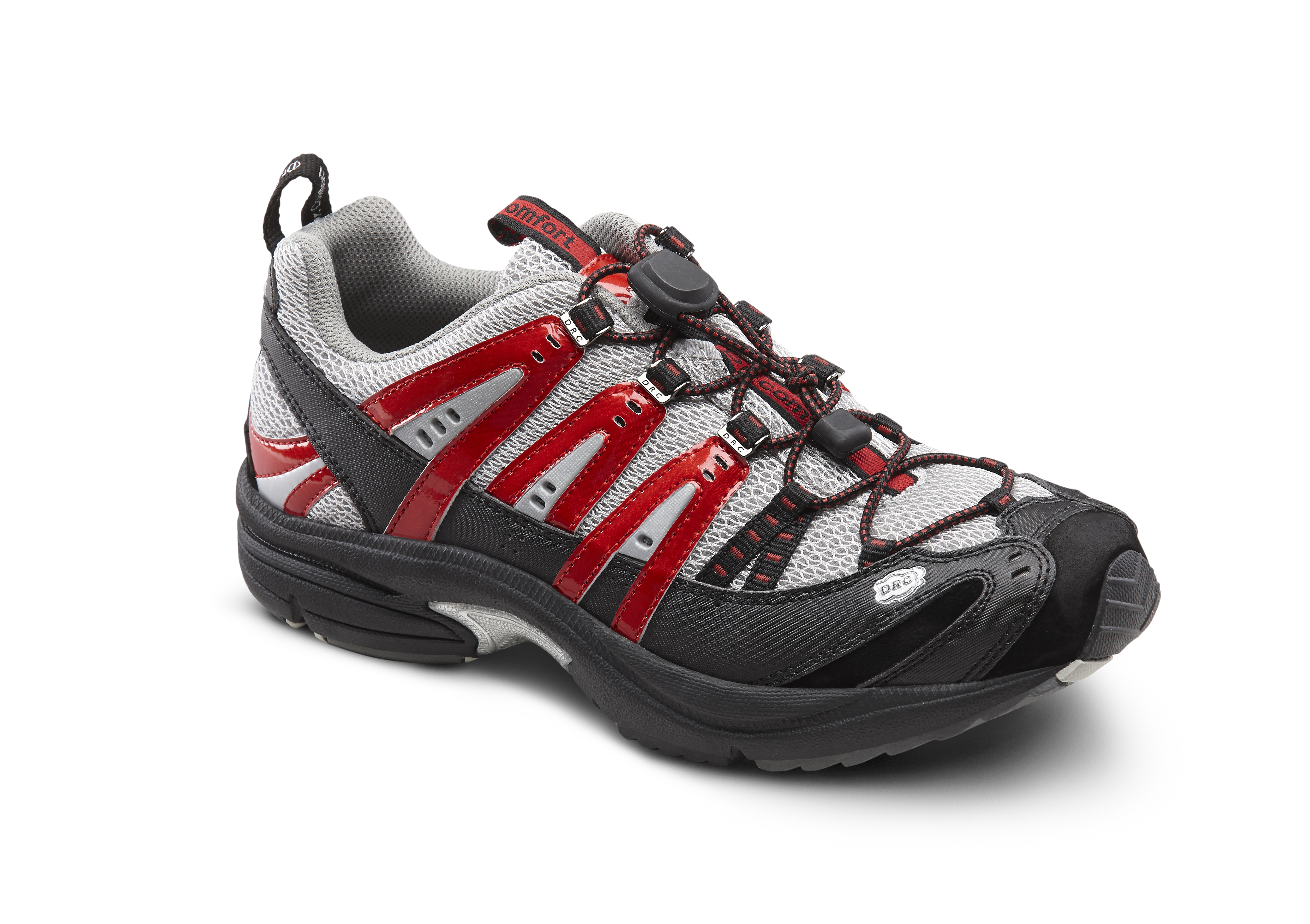 Dr. Comfort Performance Metallic Red