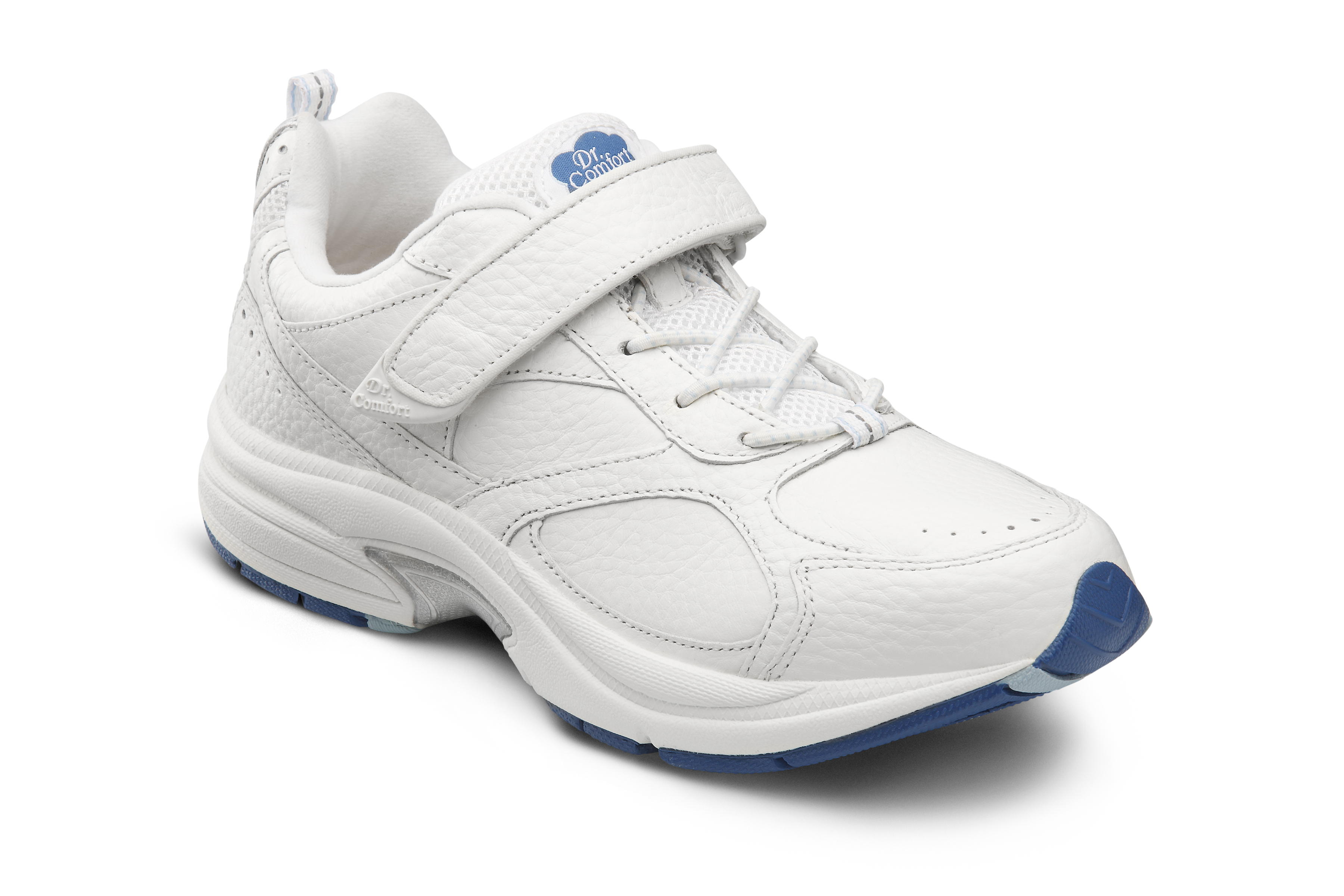 Dr. Comfort Spirit White Velcro