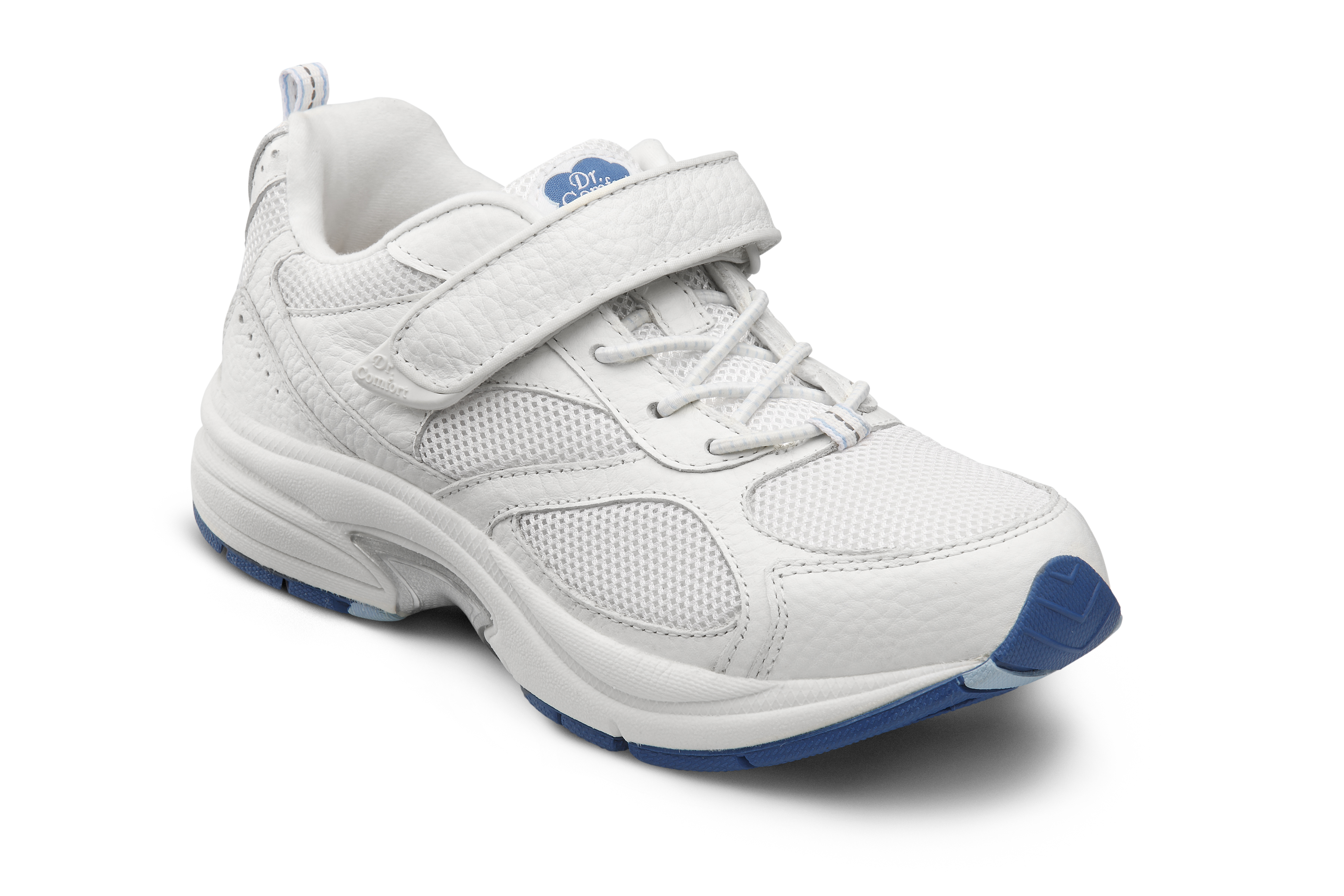 Dr. Comfort Victory White Velcro